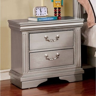 Nightstand, Silver