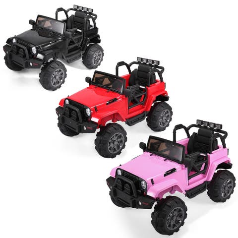 12V Electric Kids Ride On Car Racing Battery Power Remote Control