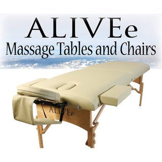 ALIVEe Signature II Cream Light Massage Table Deluxe