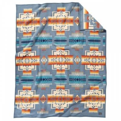 Pendleton Chief Joseph Slate Twin Blanket