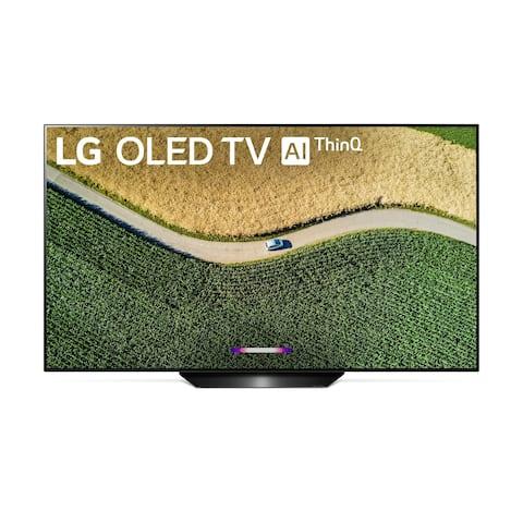 LG 77 inch OLED77B9PUA OLED B9PUA Series B9 Series - 4K HDR Smart OLED TV w/ AI ThinQ