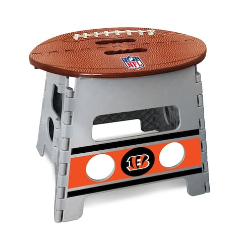 NFL - Cincinnati Bengals Folding Step Stool 13 Inch Rise