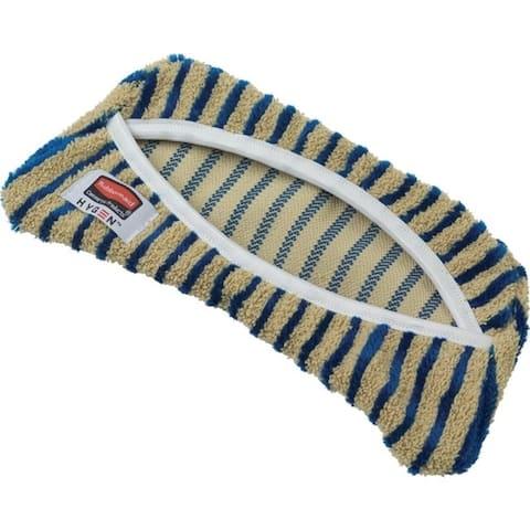 "Rubbermaid Commercial HYGEN Microfiber Flex Scrub Pad - 5.90"" Width x 8.30"" Length - MicroFiber"