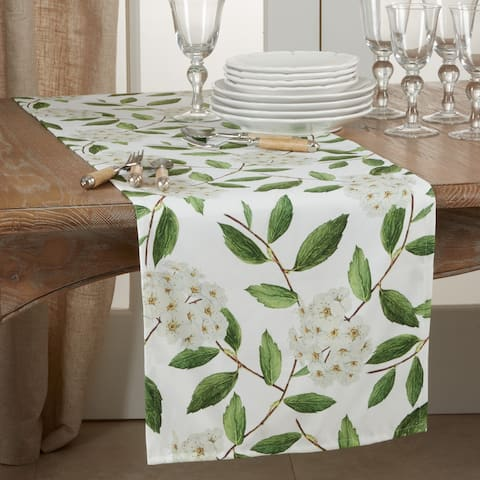 Floral Design Table Runner