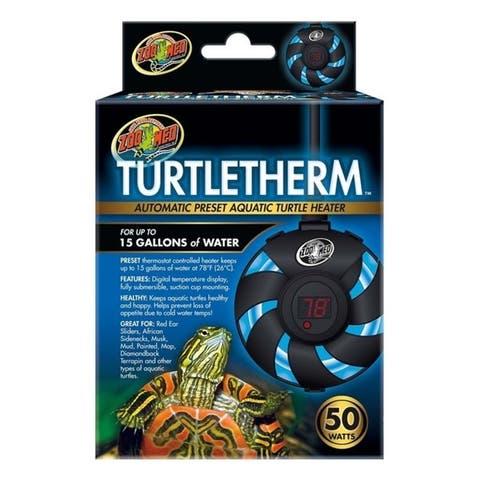 Zoo Med Turtletherm Aquatic Turtle Heater 50watt