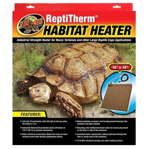 Zoo Med ReptiTherm Habitat Heater 40 watt