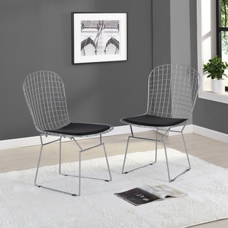 Link to Saturno Retro Chair, Set of 2 - N/A Similar Items in Dining Room & Bar Furniture