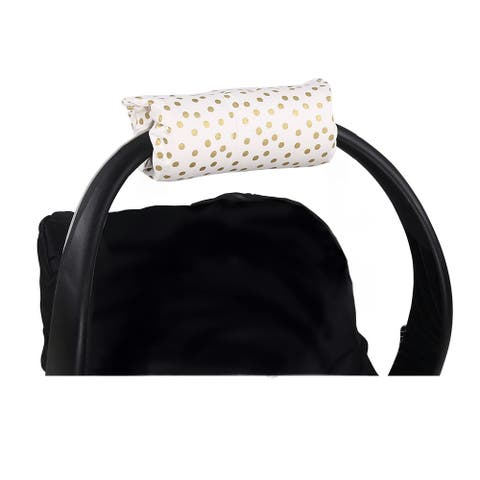 The Peanutshell Gold Dot Carrier Cushion.
