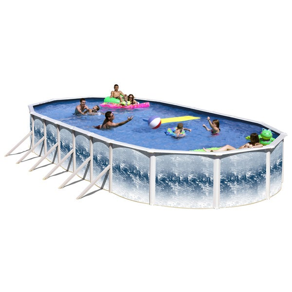 Shop Yorkshire 15 X 30 Oval Above Ground Pool Free