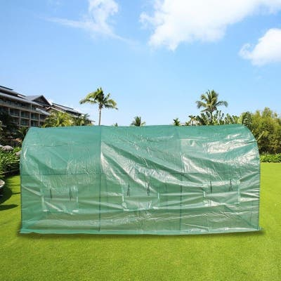 15ftx7ftx7ft Heavy Duty Greenhouse Plant Gardening Dome Greenhouse Tent