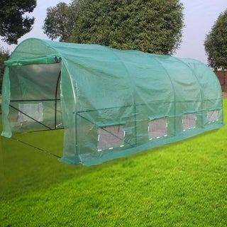 Link to 20ftx10ftx7ft -A Heavy Duty Greenhouse Plant Gardening Dome Greenhouse Tent Similar Items in Yard Care