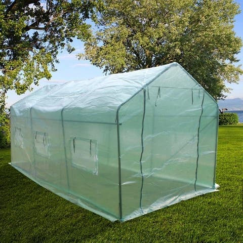 Heavy Duty Greenhouse Plant Gardening Spiked Greenhouse Tent