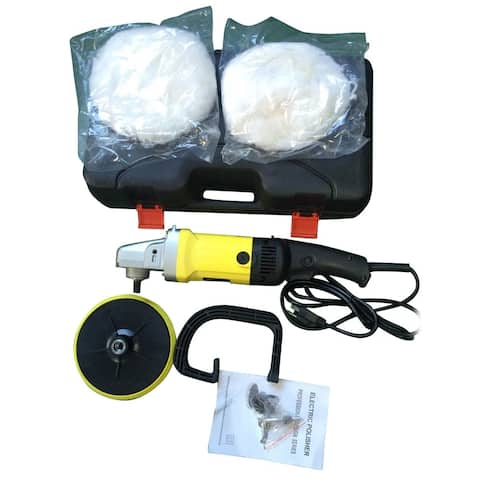 Car Cleaning Electric 6 Variable Speed Polisher Buffer Waxer US Plug