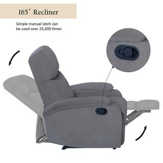 Lancdon Recliner Chair Living Room Lift Single Sofa Fabric