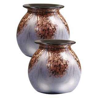 Link to Springdale 6.25 H Cambridge 2 Piece Hand Blown Art Glass Vase Set Similar Items in Decorative Accessories