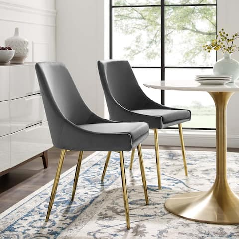 Silver Orchid Aizome Dining Chairs (Set of 2)