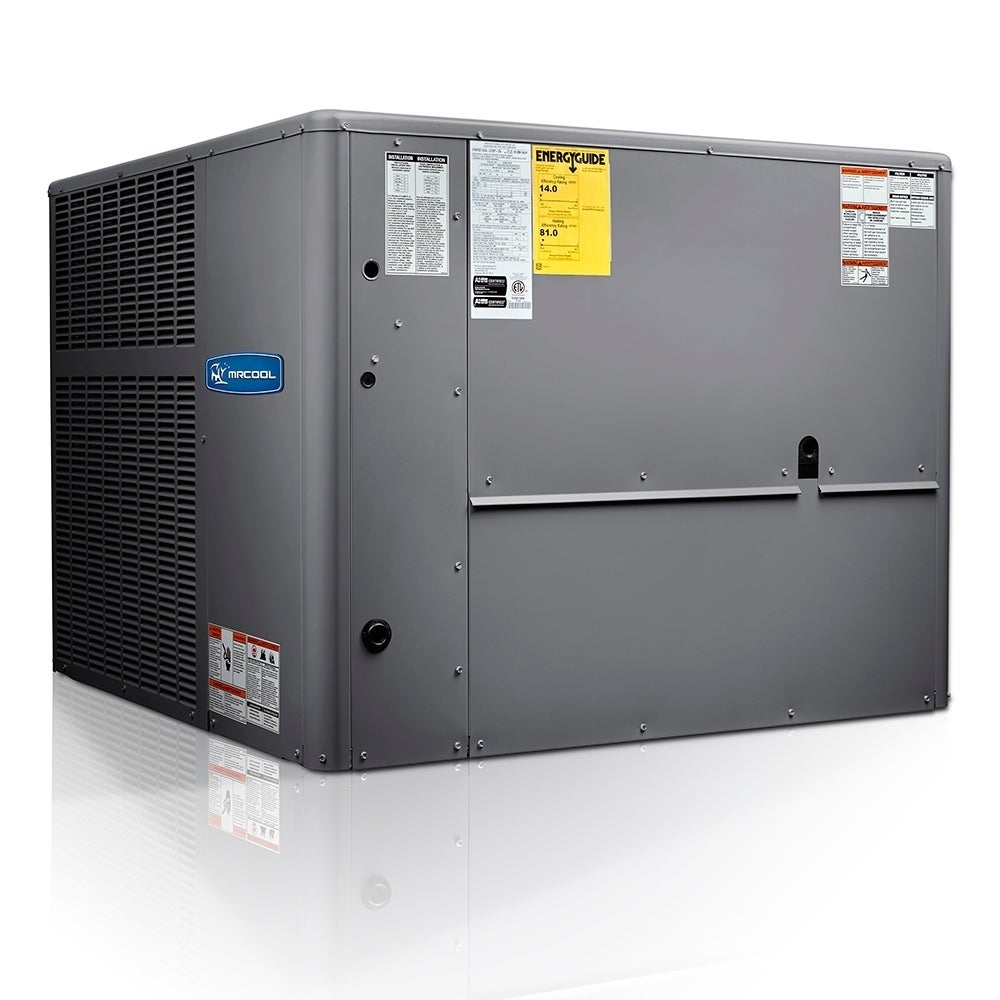 Shop Mrcool 4 Ton 14 Seer R 410a Downflow Horizontal Package Gas And Air Conditioner Overstock 30669392