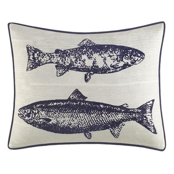 Eddie Bauer Salar Navy Decorative Throw Pillow. Opens flyout.