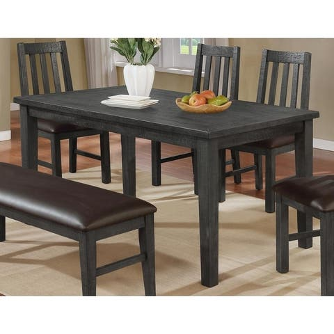 Best Master Furniture 60 Inch Wood Dining Table