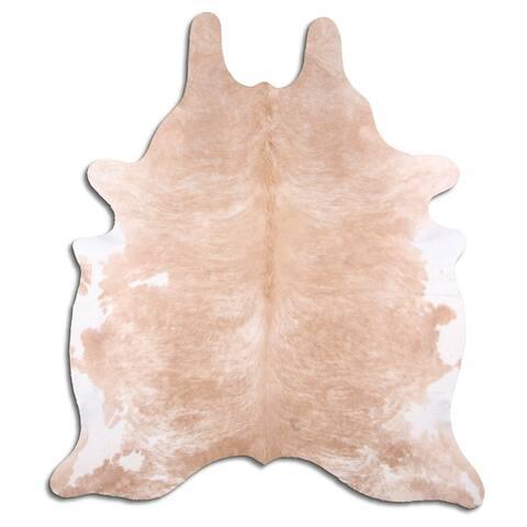cowhide leather beige - L
