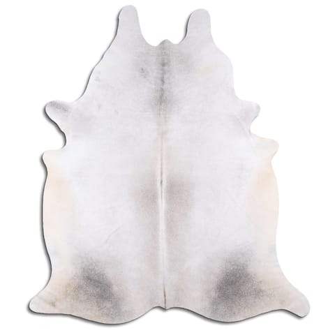 grey brindle cowhide - L