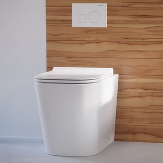 Link to Concorde Back to Wall Concealed Tank Toilet Bowl Similar Items in Toilets