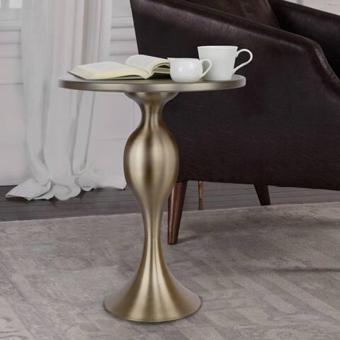 Copper Grove Sprat 24-inch Matte Golden Bronze Accent Table