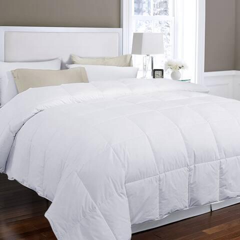 Lightweight Summer Down and Feather Duvet Comforter