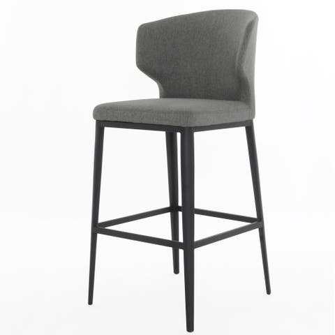 Cabo Upholstered Wingback Bar Stool (26-inch/ 29-inch)