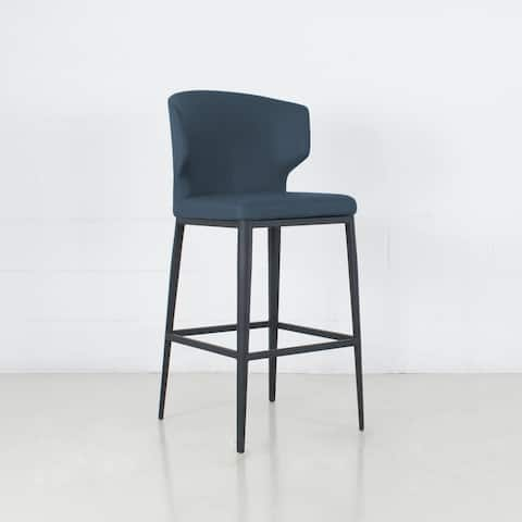 Cabo Leatherette Wingback Bar Stool (26-inch/ 29-inch)