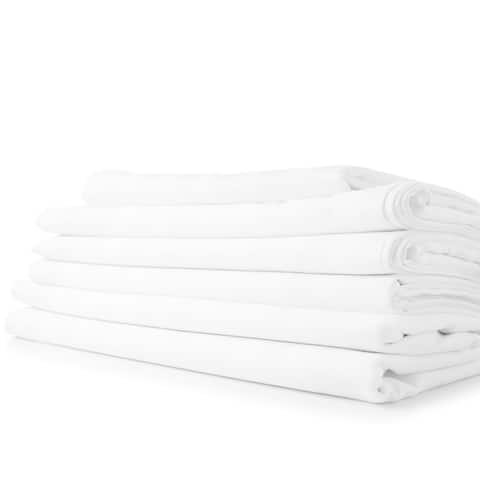 1800 Series Sheets for Bed Dobby Stripe Stay Cool Bed Sheets Deep Pockets Soft