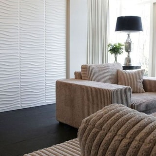 3D Embossed PVC Wallpaper Panel