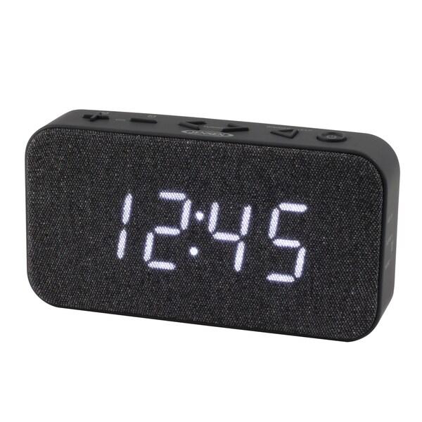 JENSEN FM Digital Dual Alarm Clock Radio JCR-229