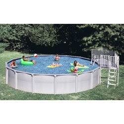 3-piece Universal Fan Deck for Above Ground Pool