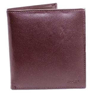Kozmic Brown Leather Bi-fold Wallet