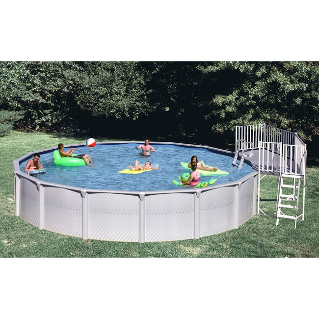 Shop 3 Piece Universal Fan Deck For Above Ground Pool