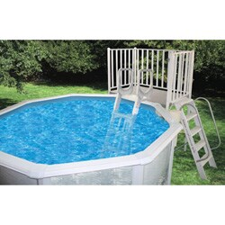 """Deck for Above Ground Pool 52"""" High 5' x 9'"""