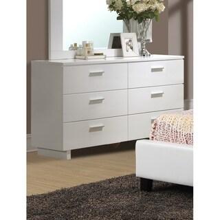 6-Drawer Dresser,White