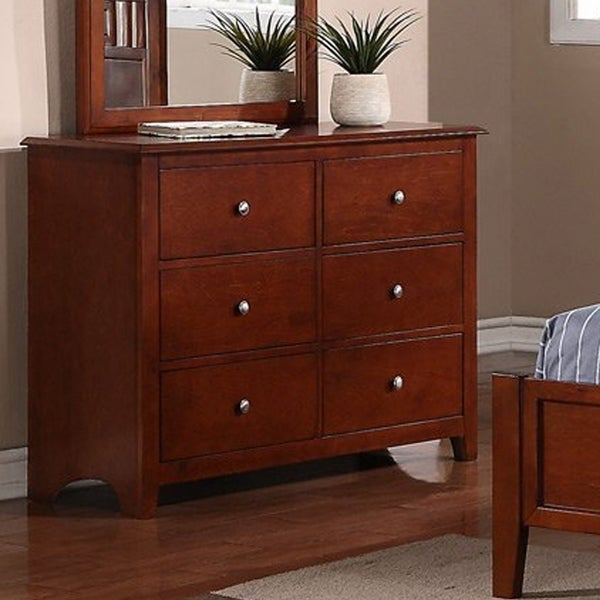 Functionally Great Pine & Plywood Dressers, Brown