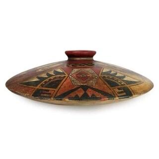 'Desert Treasure' Ceramic Vase (Mexico)