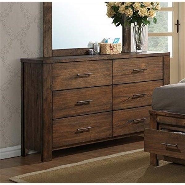 Rosalinda Natural Wood Dresser