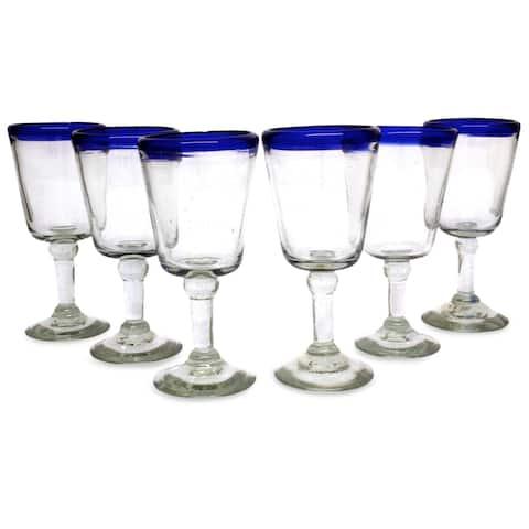 Handmade Wine glasses Chardonnay Tableware Perfect Hostess (Mexico)