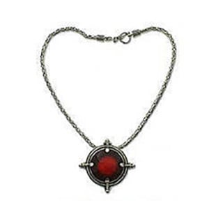 Handmade 'Power' Carnelian Necklace (Indonesia)