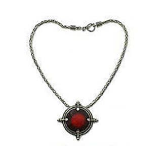 Handmade 'Power' Carnelian Necklace (Indonesia)|https://ak1.ostkcdn.com/images/products/3067478/P11204533.jpg?impolicy=medium