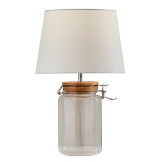 Link to Adesso Mason Jar Table Lamp Similar Items in Table Lamps