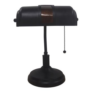Link to Adesso Oil-rubbed Bronze Bankers Table Lamp Similar Items in Desk Lamps
