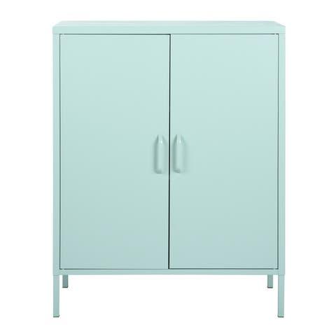 Taylor & Olive Kalmia Metal 2-door Storage Cabinet