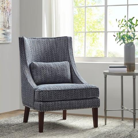 Madison Park Glenmoor Navy Accent Chair