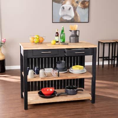 Buy Black Kitchen Islands Online at Overstock | Our Best ...