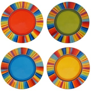 Certified International Sierra 11-inch Dinner Plates (Set of 4)